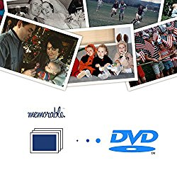 Memorable Image Scanning Kit to DVD (1000 Photos) – Photos Slides Negatives