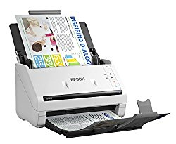 Epson DS-530 Document Scanner: 35ppm, TWAIN & ISIS Drivers, 3-Year Warranty with Next Business Day Replacement