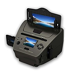 Pyle Media Instant Film & Slide Digitizer Scanner – Format Size 35mm 135 mm Negative Photo Converter to Super High Resolution 5.1 MP – Portable Stand Alone 2.4″ Inch Color Digital LCD Screen PSCNPHO53