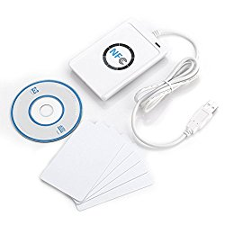 Xiangtat NFC ACR122U Access Control RFID Contactless Smart Reader & Writer / USB + 5X MifareIC Card