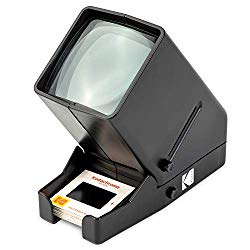 KODAK 35mm Slide and Film Viewer – Battery Operation, 3X Magnification, LED Lighted Viewing – for 35mm Slides & Film Negatives