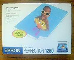 Epson Perfection 1250 Flatbed Scanner