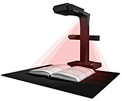 CZUR ET18 Pro Advanced Professional-Level Book & Document Scanner with Smart OCR for Mac and Windows, Patented Laser Auto-Flatten & Deskew Technology, Convert to PDF/Searchable PDF/Word/Tiff/Excel