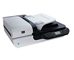 Hewlett-Packard L2703A Scanjet N6350 Flatbed Scanner, 2400 x 2400 dpi, Black