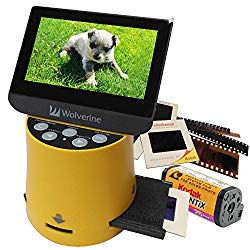 Wolverine Titan 8-in-1 High Resolution Film to Digital Converter with 4.3″ Screen and HDMI Output